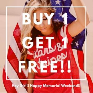 BUY 1 GET 1 FREE!!!! Marked Items. Like & Bundle!!